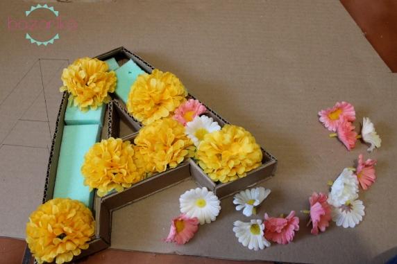 flower letter diy (7)